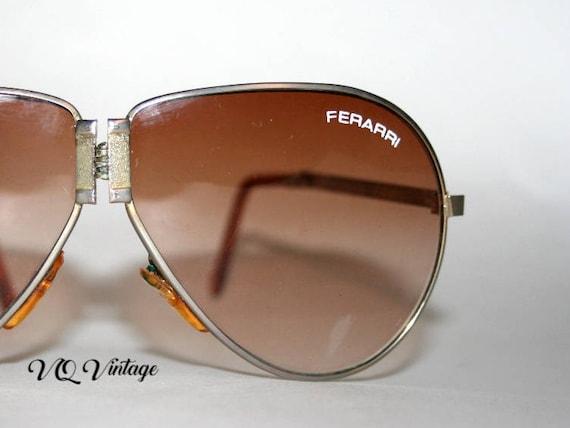 Vintage Ferarri Aviator Sunglasses