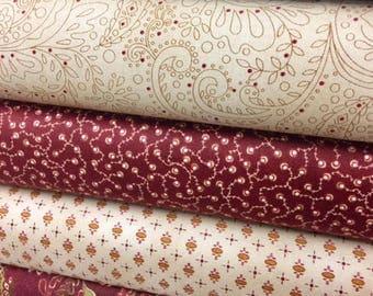 Kim Diehl Fabric Abundant Blessings Fabric Bundle 6 Fabrics