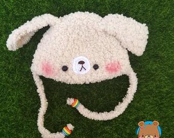 Beige puppy, dog, hat for Irrealdoll, Pukifee, Lati Yellow, Mui chan, labrador, VERSION 4
