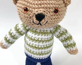 Amigurumi Crocheted Bear