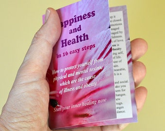 Happiness and Health Guide Card