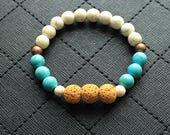 Diffuser Bracelet, Disney, Pocahontas, Pocahontas Diffuser Bracelet, Aromatherapy, Disney Bracelet, Diffuser Jewelry, Gifts for Her, Howlite