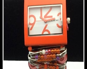 Harvest Moon Safety Pin Watch