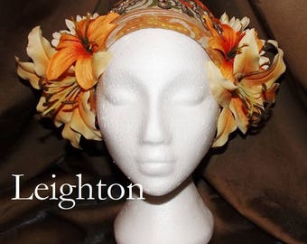 ATS Tribal Fusion Belly Dance Headpiece, Leighton