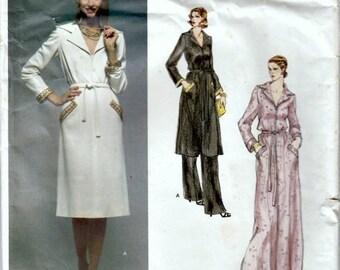 1970's Vogue Paris Original Givenchy Pattern  Out of Print 1970's Vogue Dress and Pants Pattern  UNCUT, Factory Folded  Size 16  Bust 38
