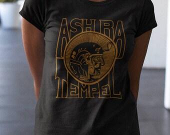 Ash Ra Temple   T shirt screen print short sleeve     shirt cotton