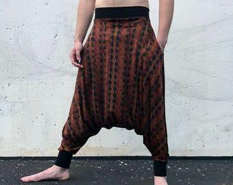 Harem pants, Harem pants men, Thai pants, Thai fisherman pants, Mens harem pants, Samurai pants, Ninja pants, Sarouel, Drop Crotch, Glorka