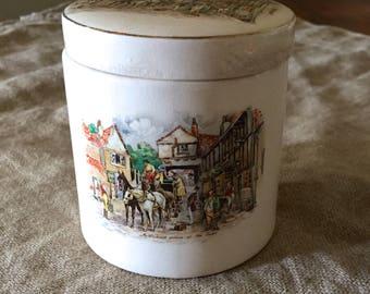Fabulous FRANK COOPER Oxford Ltd Sandland Ware Seville Marmalade jar / Pottery Jar.