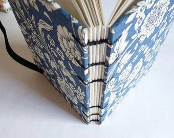 A6, Weekly, planner 2018, 2019, MeDiary, Diary,  journal, notebook, Coptic, Rossi paper, florentine designs, flowers, blue, green, fruit
