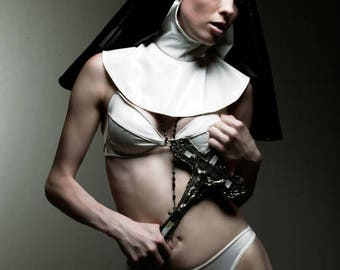 Nun Hood PVC- from Artifice Clothing (brand new production sample)