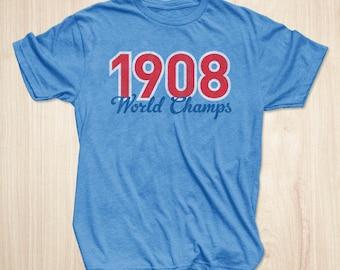 Chicago Cubs Shirt, 1908 World Champs