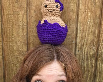 Peanut + Jelly Crocheted Amigurumi Plushie