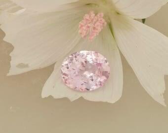 Ceylon Pink Sapphire Precision Cut 11.1 x 9.1 MM Oval 4.50 Carats