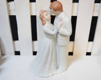 Wedding Cake Topper, Vintage Wedding Cake Topper, First Kiss Cake Topper, First Dance Cake Topper