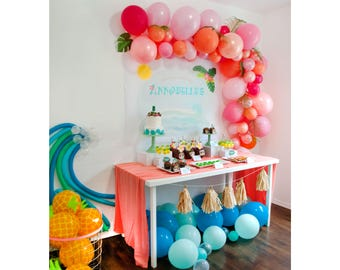 Moana Inspired Tropical Ocean Dreams Party Printable Decorations -  custom PRINTABLE DOWNLOADS .pdf  files