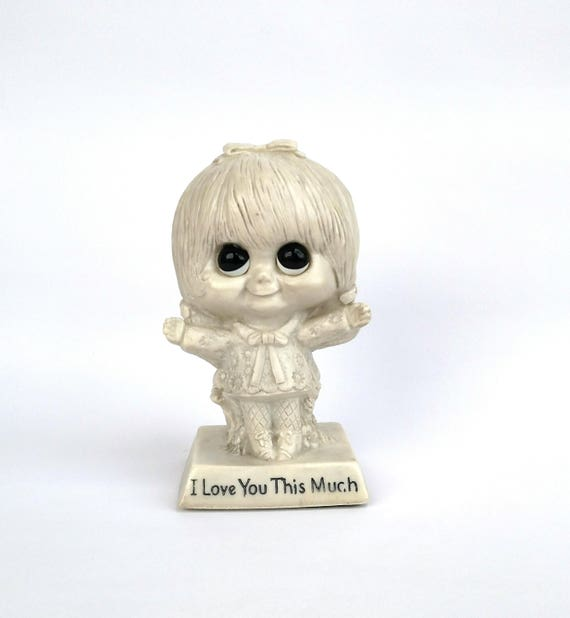 Vintage 1970 I Love You This Much figurine