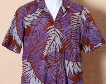 Vintage 80s Hawaiian Style Shirt - HENRY GRETHEL
