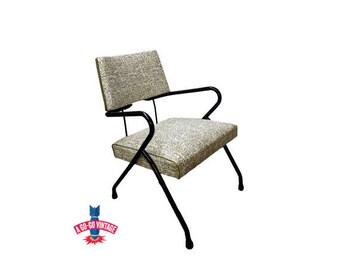Vintage Mid Century Modern Chair Atomic Eames Furniture Danish Modern