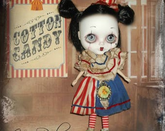 Blythe  ~ RESERVED for LISA ~Vintage Circus Inspired 3 Piece Outfit ~ By KarynRuby