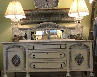 "The ""Aurora"" Turn of the Century Sideboard/Buffet"