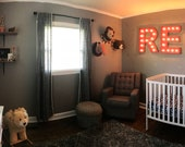 SALE LARGE Wood Letter Marquee Block or Circus...........   A B C D E F G H I J K L M N O P Q R S T U V W X Y Z