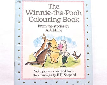 Winnie-the-Pooh Colouring Book AA Milne EH Shepard