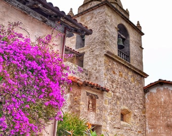 Carmel Mission Photo Print