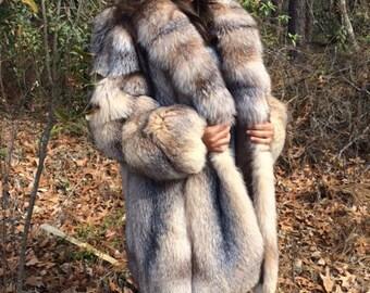 Fox Fur Jacket/Coat