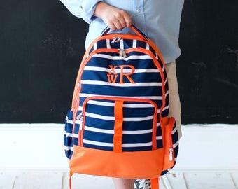 Monogram Backpack, Personalized Backpack, Personalized Kids Bookbags, Diaper Bag Backpack, Back to School, Boy Backpack, School Bag