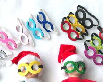 Set of 2 Silly Goggles For Elf Doll