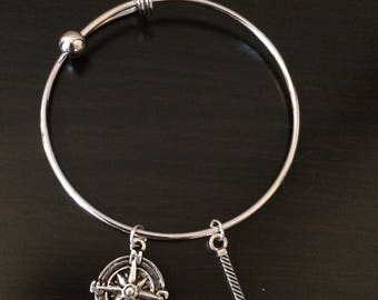 Adjustable Lord of the Rings bracelet