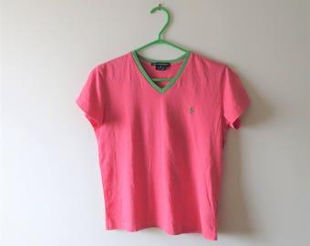 Ralph lauren t shirt | Etsy