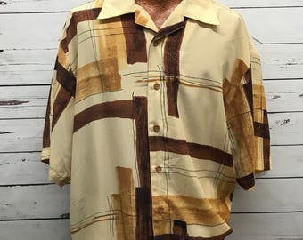 Mens 70's vintage dress shirt