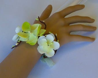 Bracelet fantasy flowers and berries anise