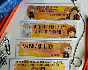 Harry Potter Bookmarks - Sorcerer's Stone