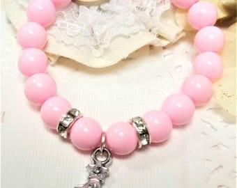 Christmas Tree Beaded Bracelet, Holiday Bracelet, Christmas Bracelet, Stretchy, Custom, Handmade Beaded Jewelry