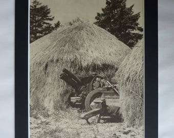 Vintage Home Front Print, Second World War Gift, Military Photography, Available Framed, WW2 Art, British Army Picture, Australian Soldier