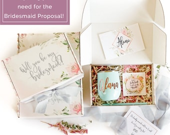 Bridesmaid Proposal, Will You Be My, Bridesmaid Box, Bridal Party Gifts, Bridal Favors, Ask Bridesmaid, Be My Bridesmaid, Personalized