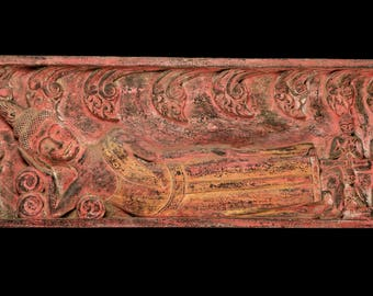 Long Wall Art buddha wall art   etsy