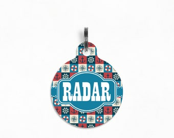 "Pet ID Tag | ""Radar"" - Nautical Notions"
