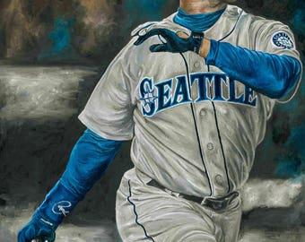 Ken Griffey Jr Seattle Mariners Glicee Prints
