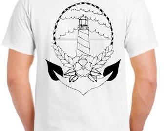 Light House Anchor Tee