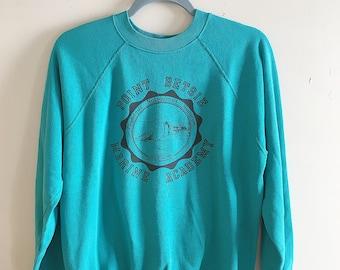 Retro Point Betsie Marine Academy Crew Neck Sweatshirt