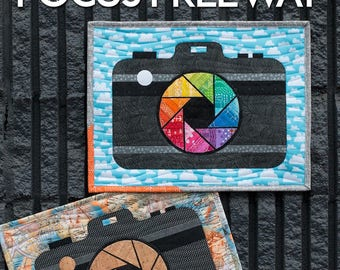 Mini Focus Freeway Quilt Pattern by Sassafras Lane Designs