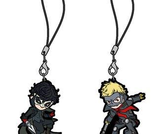 Persona 5 Protagonist Joker Charm Keychains