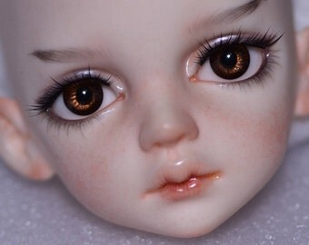 Custom face up DIMdoll Miru head OOAK BJD DIM Doll in Mind