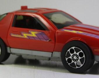 Vintage 1985 series one  Kenner M.A.S.K. Thunderhawk spectrum  Red Camaro