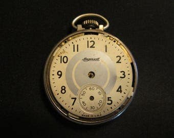 Ingresoll  Pocket  Watch. FOR PARTS ONLY. J121-15-3