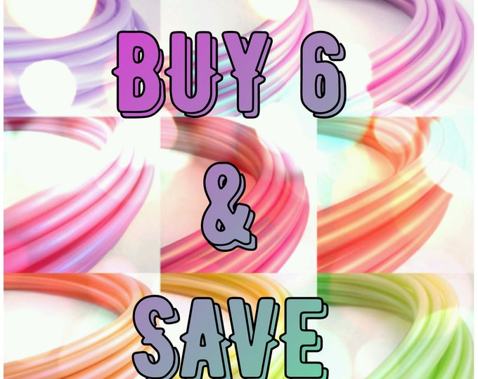 Polypro Hula Hoops Buy 6 and Save