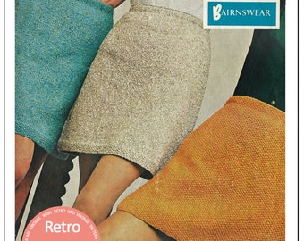 Mini Skirt Knitting Pattern – PDF Knitting Pattern- PDF Instant Download